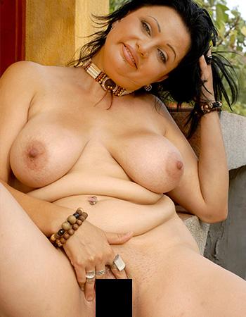 Nackt Fett